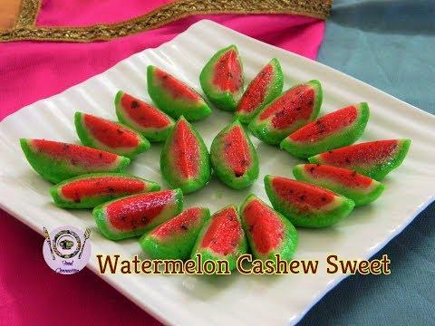 Xxx Mp4 Secret Recipe Of Halwai Watermelon Cashew Sweet Kaju Katli Kaju Barfi Cashew Fudge 3gp Sex