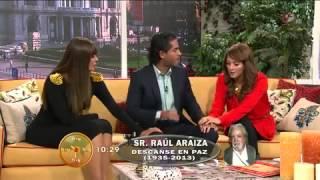 Muere Raúl Araiza de Cáncer productor de televisa