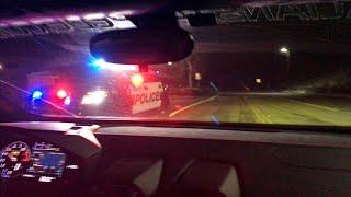 Lamborghini OUT RUNS POLICE!