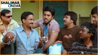 Racha Movie    Venu Madhav & Satya Krishnan Comedy Scene     Ram Charan, Tamanna