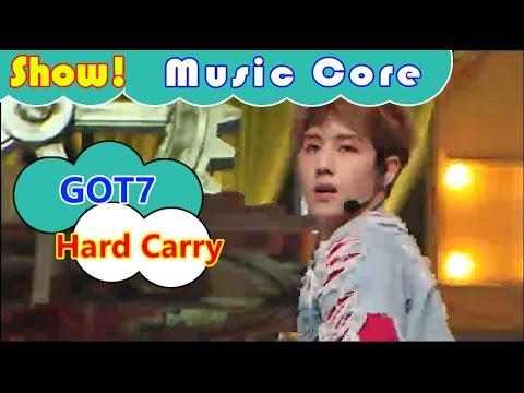Download [Comeback Stage] GOT7 - Hard Carry, 갓세븐 - 하드캐리 Show Music core 20161001