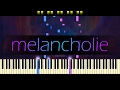 """Melancholy"" - Piano // M. PASIKOV"