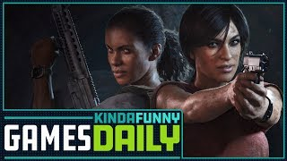 Uncharted: The Lost Legacy Preview - Kinda Funny Games Daily (07.25.17)
