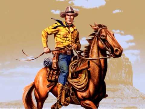 Tex Willer A cavallo con Tex.