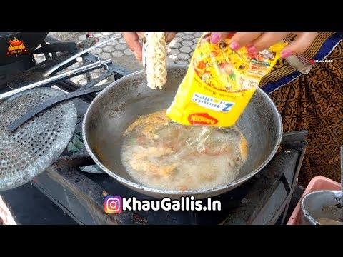 Xxx Mp4 INDIAN DESI STYLE MASALA CHEESE MAGGI FUTALA IN NAGPUR Indian Street Food 2019 3gp Sex