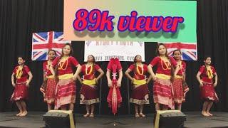 Chit Ko saree Nepali song Group Dance
