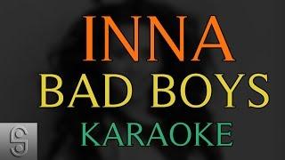 Inna - Bad Boys (Instrumental KARAOKE) with Lyrics