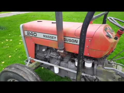 Excellent condition Used Massey Ferguson MF 240 Tractor for sale