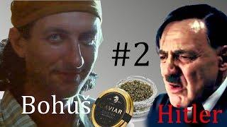 Hitler a Bohuš v restauraci