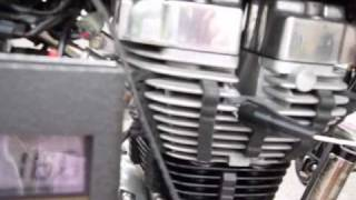 Royal Enfield Bullet EFI G5 Idle RPM Adjustment By Idle Air Bypass Screw