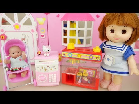 Xxx Mp4 Baby Doll And Hello Kitty Surprise Vending Machine Toys Play 3gp Sex