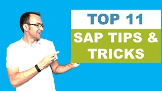 Top 11 SAP Tips and Tricks for SAP Beginners
