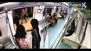 Caught on camera : Woman commuter harassed on Bangalore Metro - NewsX