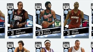 NBA 2K17 My Team - High Scorers Collection! PS4 Pro