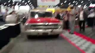 Farmtruck leaving SEMA