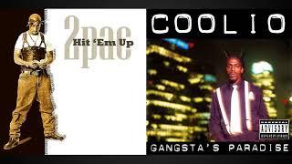 Hit 'Em Up vs. Gangsta's Paradise (2Pac/Coolio Mashup)