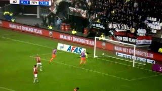 Lekkere goals #2 AZ-Feyenoord Tony Vilhena