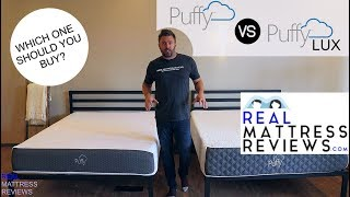 Puffy VS Puffy Lux Mattress Review/Comparison - Which is Best for You?