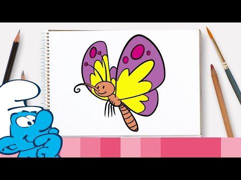Xxx Mp4 तितली का चित्र कैसे बनाएं • द स्मर्फ्स 3gp Sex