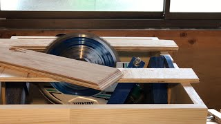 Homemade Tablesaw 2/3 - Angle Adjustment System