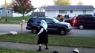 Granny getting down