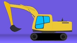Kids TV Channel | Excavator | vehicle assembly for kids | cartoon videos for kids