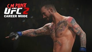CM Punk UFC 2 My Career Mode - Ep. 2 -