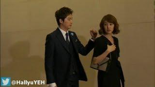 [BTS Grab Hand Scene] Yoon Eun Hye 윤은혜 & Kang Ji Hwan-Lie To Me