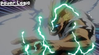 All Might's Secret Quirk Power