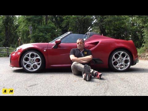 Alfa Romeo 4C Spider Test Drive AMboxing ENGLISH SUB