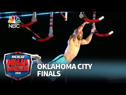 Karsten Williams at the Oklahoma City Finals American Ninja Warrior 2016