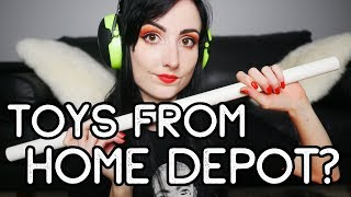 BDSM Toys From HOME DEPOT? | DIY & Affordable Kink Gear