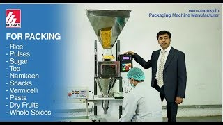 Packing Machine : SIngle head Weigher with Band Sealer