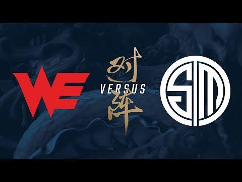 WE vs. TSM   Group Stage Day 7   2017 World Championship   Team WE vs TSM