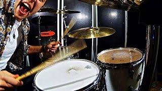 [Lunatic Drumming] Tom Tom Drum Beats With LP Jam Block