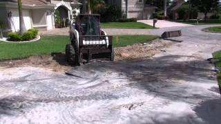 Tuscan Paving Stone - Driveway Removal