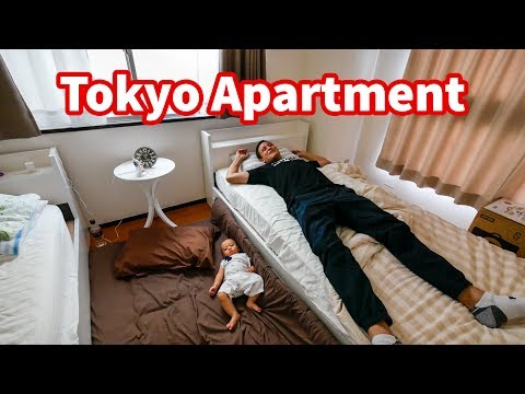 Living in Japan TOKYO APARTMENT TOUR in Shinjuku Where To Stay in Tokyo 60 Per Night
