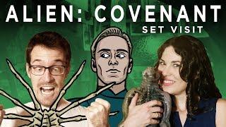Alien: Covenant - Set Visit!