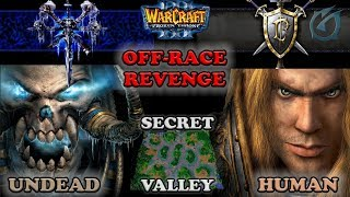 Grubby | Warcraft 3 The Frozen Throne | UD v HU - Off-Race Revenge - Secret Valley