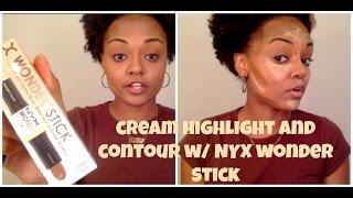 Highlight & Contour w/ NYX Wonder Stick