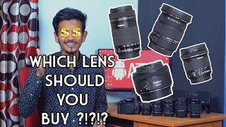 All About DSLR Lenses in Bangla | 4K | ATC