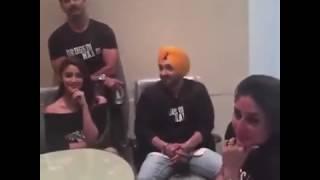 Shahid Kareena awkwardness Udta Punjab pre trailer launch