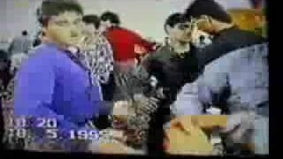 رقص مردهاي ايراني در يك عروسی قديمي
