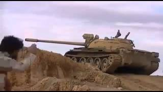 When a TOW missle missed Syrian Army tank