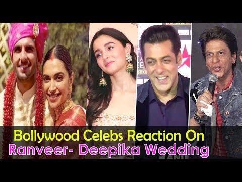 Xxx Mp4 Bollywood Celebs Best Reaction On Ranveer Singh And Deepika Padukone39s Grand WEDDING In Italy 3gp Sex