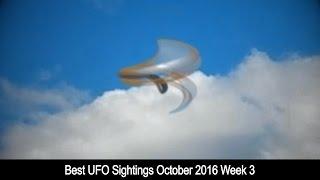 Best UFO Sightings October 2016 Week 3