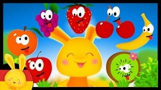 Das Obst auf deutsch lernen - German vocabulary - Obst, Früchte lernen für Kinder Titounis