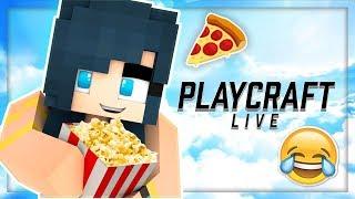 WATCH A REAL LIFE PLAY BY PLAYCRAFT LIVE /w ItsFunneh