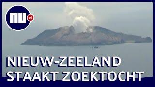 Nieuw Zeeland staakt zoekactie vanwege nieuwe activiteit vulkaan | NU nl