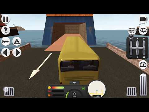 Coach Bus Simulator MANUAL WITH CLUTCH Ferry & More